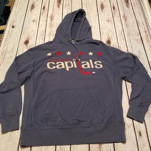 47 brand Washington Capitals hoodie sweatshirt